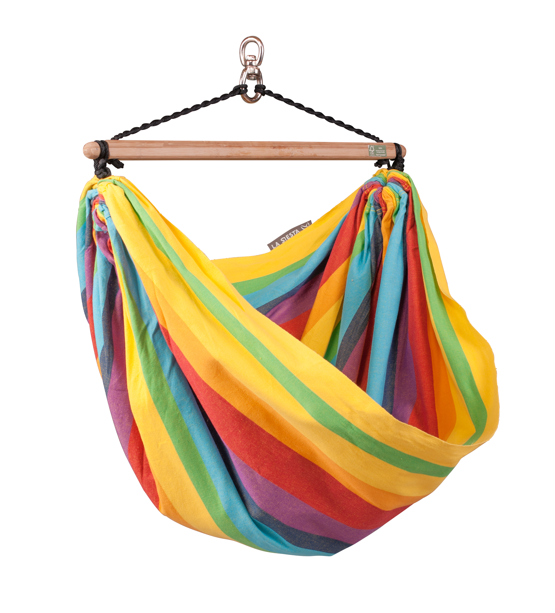 Medium image of iri rainbow hammock chair