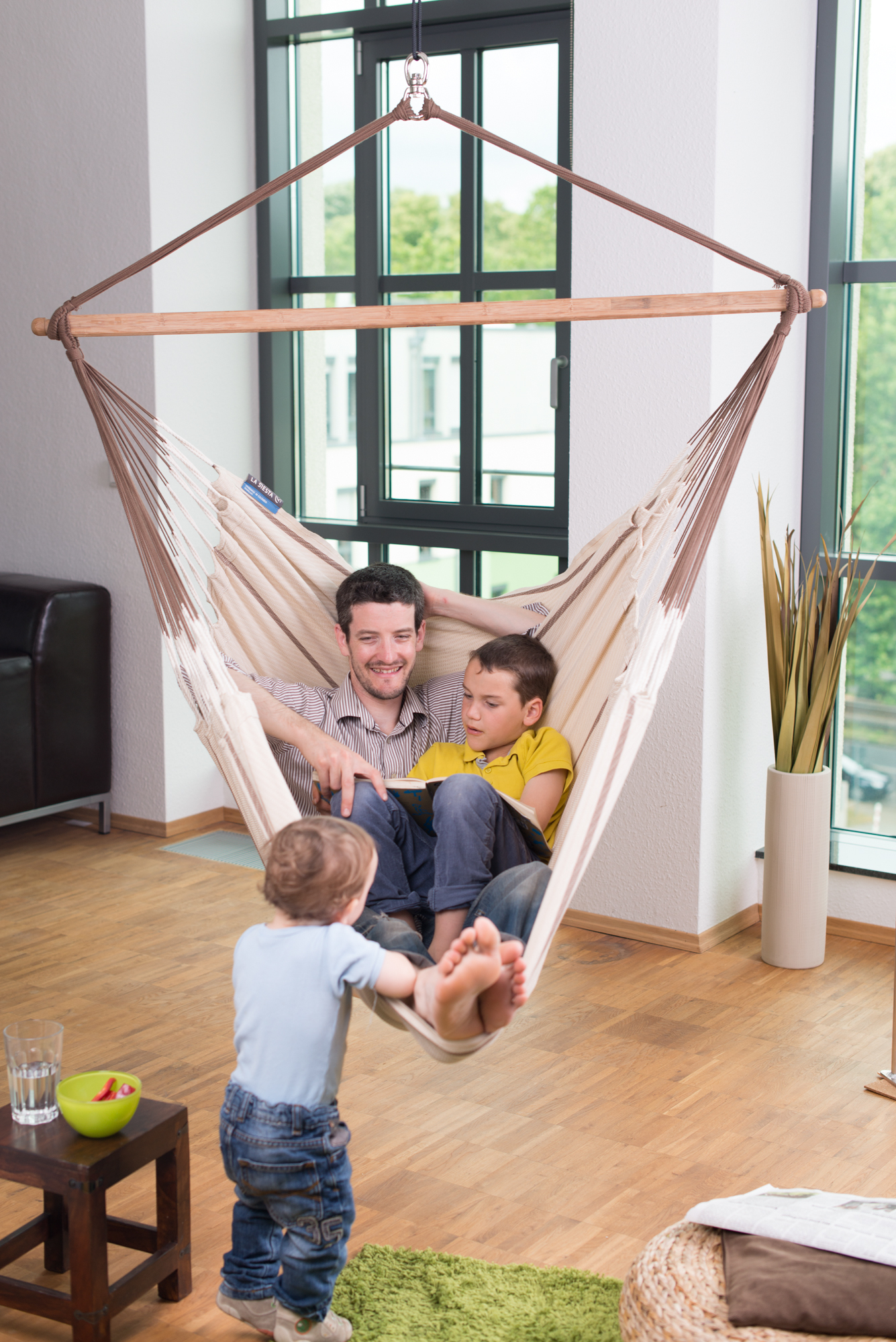 Medium image of double hammock chair habana nougat